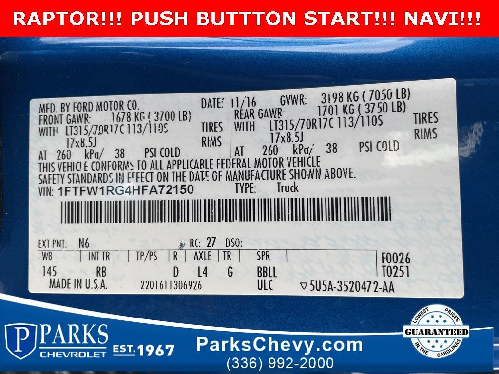 2017 Ford F-150 SuperCrew Cab 4x4, Pickup #1K5189 - photo 30