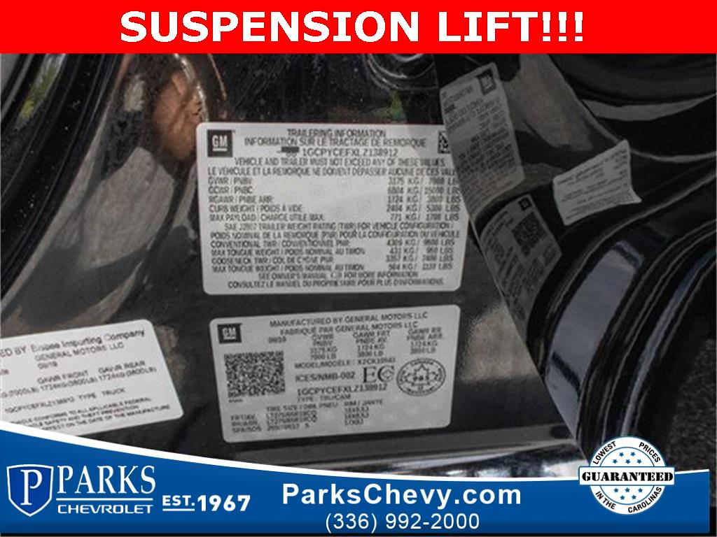 2020 Chevrolet Silverado 1500 Crew Cab 4x4, Pickup #1K5334 - photo 26