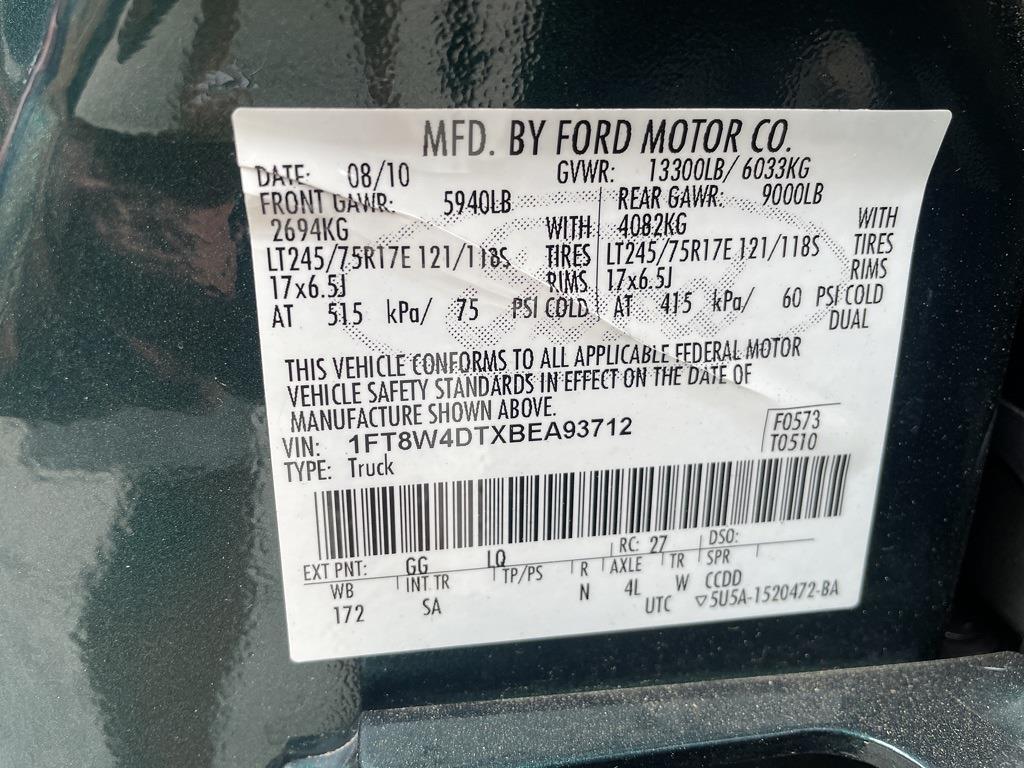 2011 Ford F-450 Crew Cab DRW 4x4, Pickup #1K5336 - photo 28