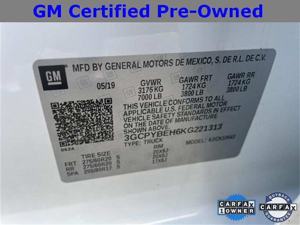 2019 Chevrolet Silverado 1500 Crew Cab 4x4, Pickup #261499XA - photo 20