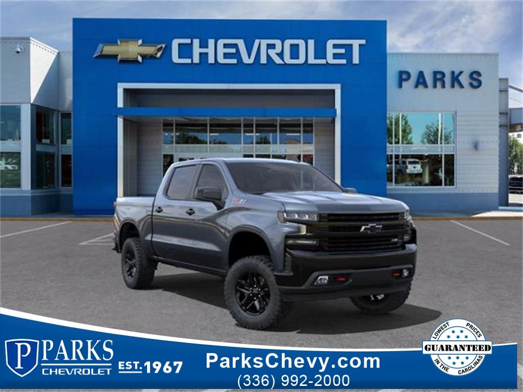 2021 Chevrolet Silverado 1500 Crew Cab 4x4, Pickup #283648 - photo 1
