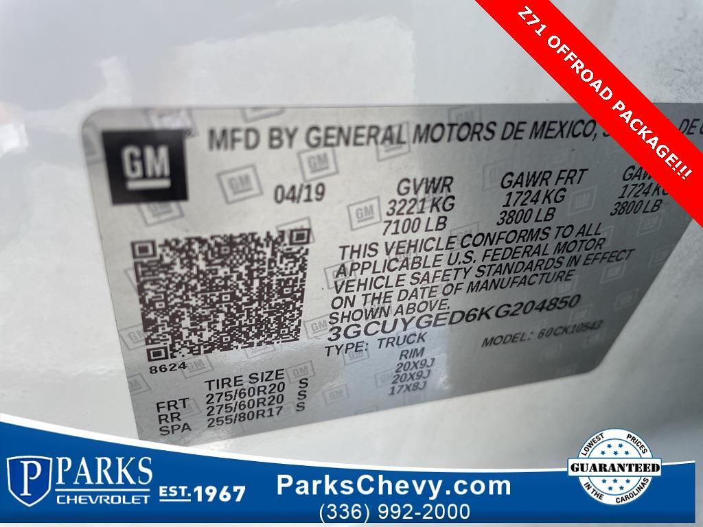 2019 Chevrolet Silverado 1500 Crew Cab 4x4, Pickup #303661A - photo 26