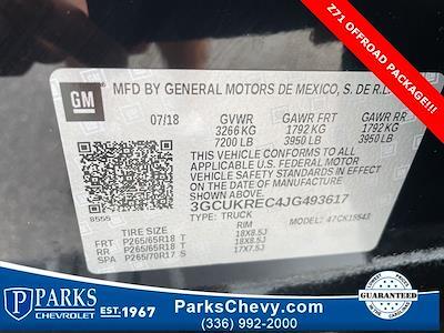 2018 Chevrolet Silverado 1500 Crew Cab 4x4, Pickup #322237A - photo 25