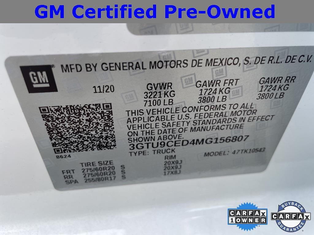 2021 GMC Sierra 1500 Crew Cab 4x4, Pickup #323499A - photo 24
