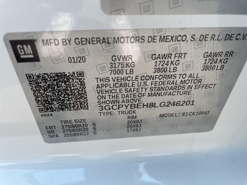 2020 Chevrolet Silverado 1500 Crew Cab 4x4, Pickup #379475A - photo 21