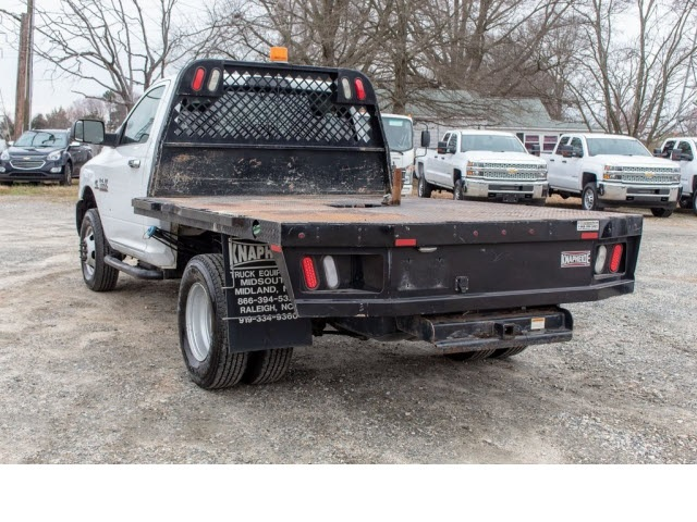 2014 Ram 3500 Regular Cab DRW 4x4,  Platform Body #5K2870 - photo 1