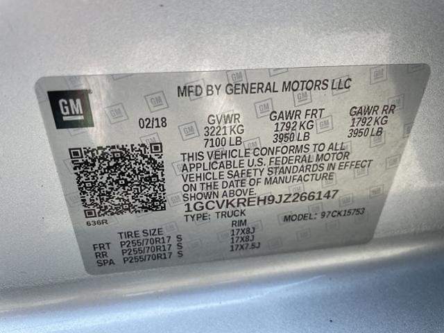 2018 Chevrolet Silverado 1500 Double Cab 4x4, Pickup #7K5423 - photo 22