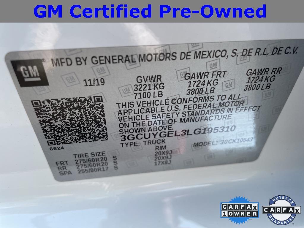 2020 Chevrolet Silverado 1500 Crew Cab 4x4, Pickup #9K5474 - photo 29