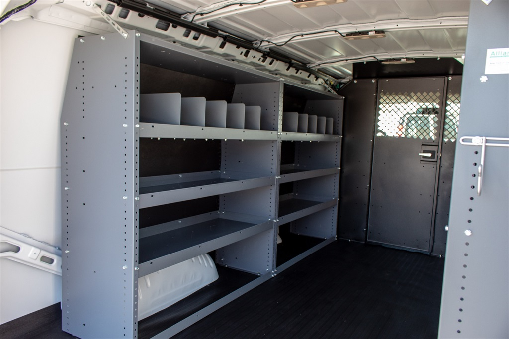 2019 Express 2500 4x2,  Masterack Steel General Service Upfitted Cargo Van #FK0073 - photo 9