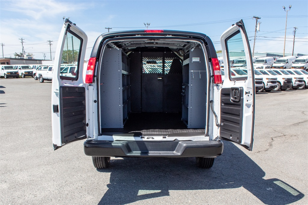 2019 Express 2500 4x2,  Masterack Upfitted Cargo Van #FK0073 - photo 1