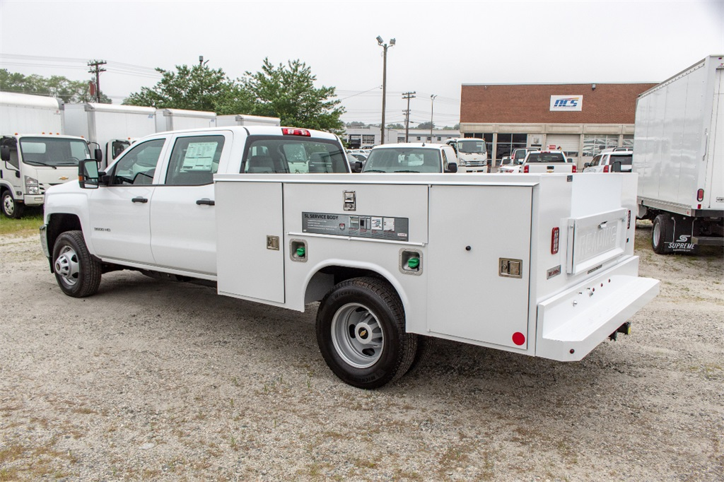 2019 Silverado 3500 Crew Cab DRW 4x2,  Reading Service Body #FK0096 - photo 1