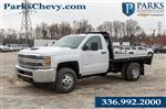 2019 Silverado 3500 Regular Cab DRW 4x2,  Knapheide Platform Body #FK0283X - photo 1