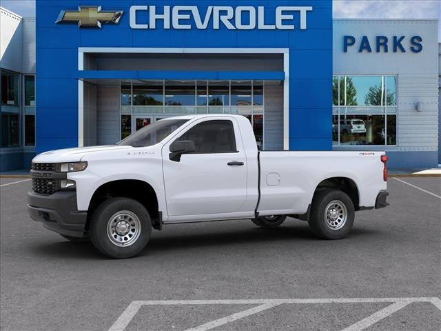 2020 Chevrolet Silverado 1500 Regular Cab 4x4, Pickup #FK0400 - photo 3