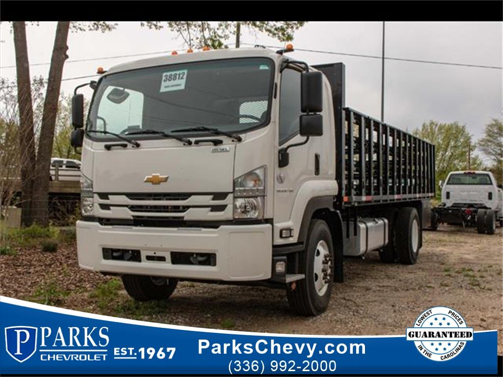 2020 Chevrolet LCF 6500XD Regular Cab DRW 4x2, PJ's Stake Bed #FK0537 - photo 1