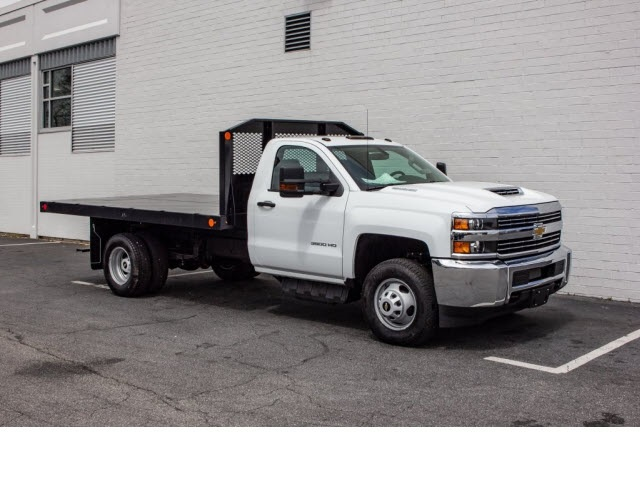 2018 Silverado 3500 Regular Cab DRW 4x2,  Monroe Platform Body #FK0555X - photo 10