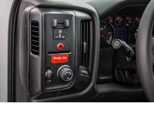 2018 Silverado 3500 Regular Cab DRW 4x2,  Monroe Work-A-Hauler II Platform Body #FK0555X - photo 15