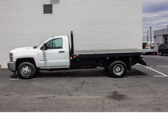 2018 Silverado 3500 Regular Cab DRW 4x2,  Monroe Platform Body #FK0555X - photo 6