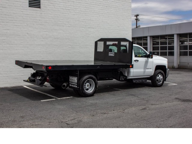 2018 Silverado 3500 Regular Cab DRW 4x2,  Monroe Platform Body #FK0555X - photo 8