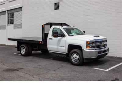 2018 Silverado 3500 Regular Cab DRW 4x2,  Monroe Work-A-Hauler II Platform Body #FK0555X - photo 10