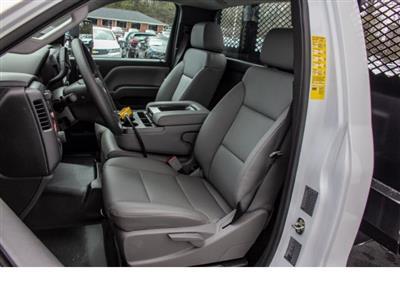 2018 Silverado 3500 Regular Cab DRW 4x2,  Monroe Work-A-Hauler II Platform Body #FK0555X - photo 4