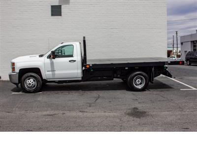 2018 Silverado 3500 Regular Cab DRW 4x2,  Monroe Work-A-Hauler II Platform Body #FK0555X - photo 6