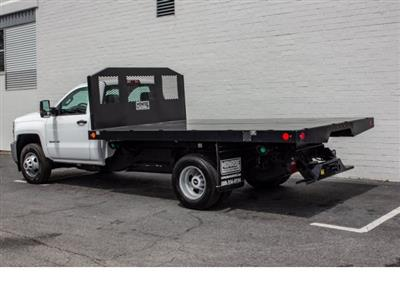 2018 Silverado 3500 Regular Cab DRW 4x2,  Monroe Work-A-Hauler II Platform Body #FK0555X - photo 2