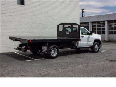 2018 Silverado 3500 Regular Cab DRW 4x2,  Monroe Work-A-Hauler II Platform Body #FK0555X - photo 8