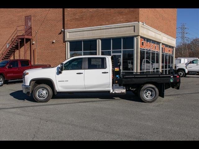 2020 Chevrolet Silverado 3500 Crew Cab DRW 4x2, Hillsboro GII Steel Platform Body #FK0868 - photo 4