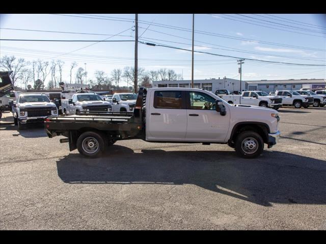 2020 Chevrolet Silverado 3500 Crew Cab DRW 4x2, Hillsboro GII Steel Platform Body #FK0868 - photo 8