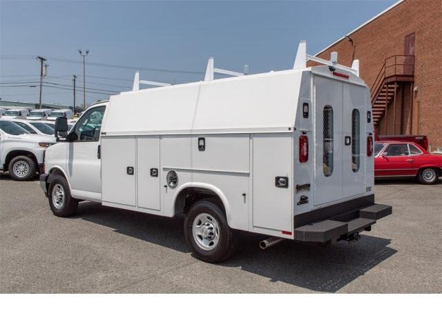 2019 Chevrolet Express 3500 4x2, Knapheide Service Utility Van #FK0990 - photo 1