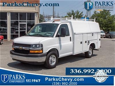 2019 Chevrolet Express 3500 4x2, Knapheide KUV Service Utility Van #FK0990 - photo 1