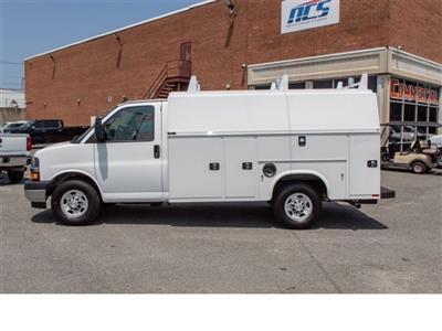 2019 Chevrolet Express 3500 4x2, Knapheide KUV Service Utility Van #FK0990 - photo 3
