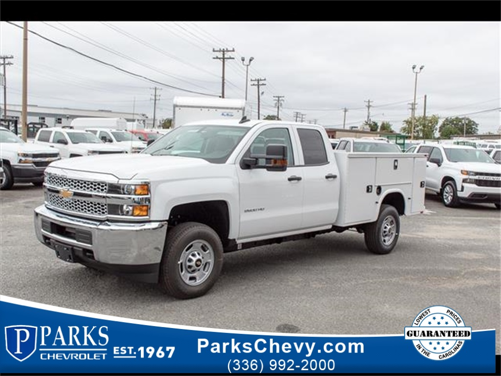 2019 Silverado 2500 Double Cab 4x2, Knapheide Steel Service Body #FK1157 - photo 1