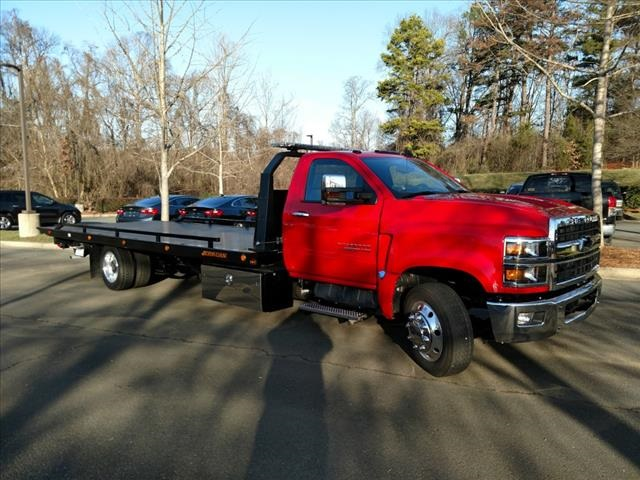2019 Silverado 6500 Regular Cab DRW 4x2, Jerr-Dan Standard Duty Carriers Rollback Body #FK1438 - photo 5