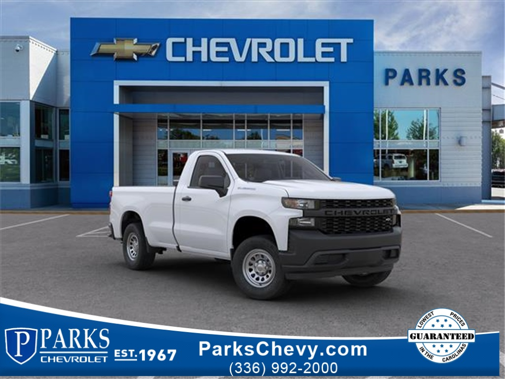 2020 Silverado 1500 Regular Cab 4x2, Pickup #FK1574X - photo 1