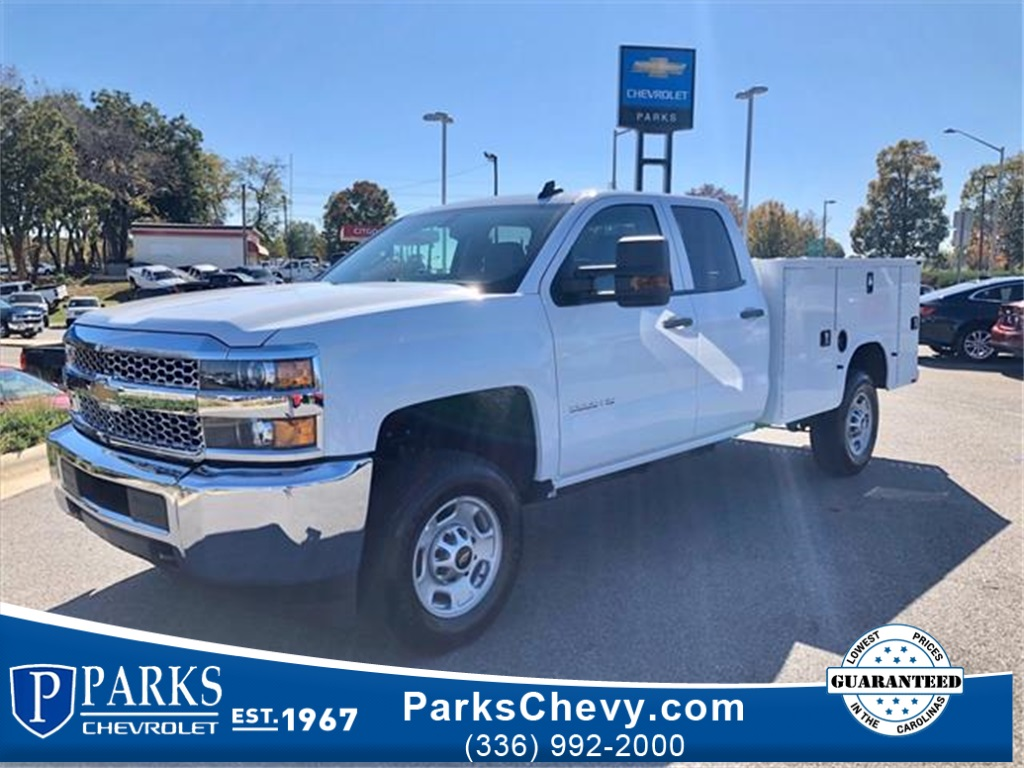 2019 Chevrolet Silverado 2500 Double Cab 4x2, Knapheide Steel Service Body #FK1776 - photo 1