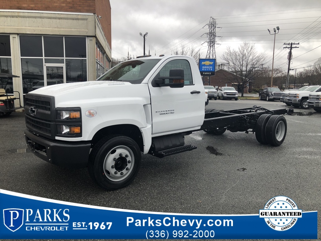 2019 Silverado 5500 Regular Cab DRW 4x2, Cab Chassis #FK1983 - photo 1