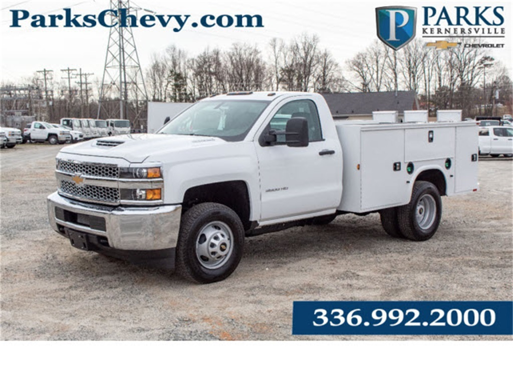 2019 Silverado 3500 Regular Cab DRW 4x2,  Knapheide Standard Service Body #FK2225 - photo 1