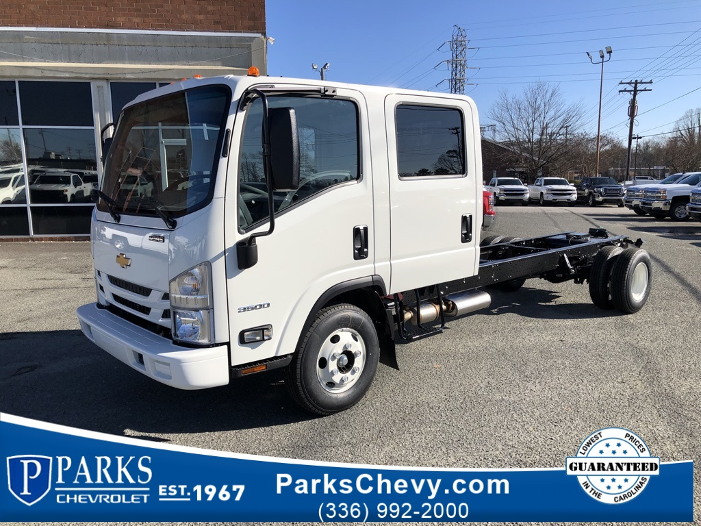 2019 LCF 3500 Crew Cab 4x2, Cab Chassis #FK2453 - photo 1