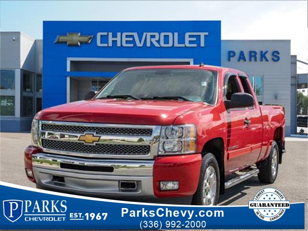 2013 Chevrolet Silverado 1500 Double Cab 4x2, Pickup #FK2532A - photo 1