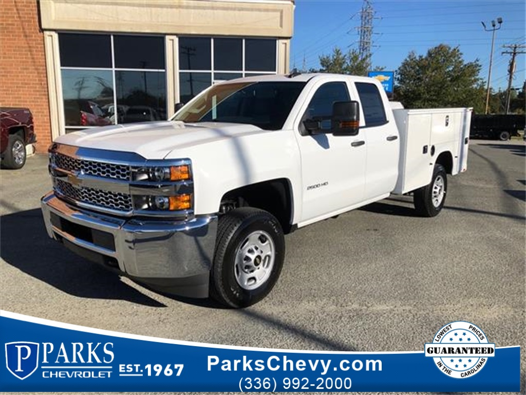 2019 Chevrolet Silverado 2500 Double Cab 4x4,  Knapheide Service Body #FK3334 - photo 1
