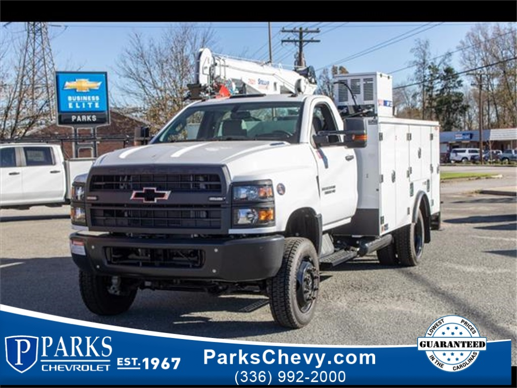 2020 Chevrolet Silverado 5500 Regular Cab DRW 4x4, Stellar Industries Mechanics Body #FK3367 - photo 1