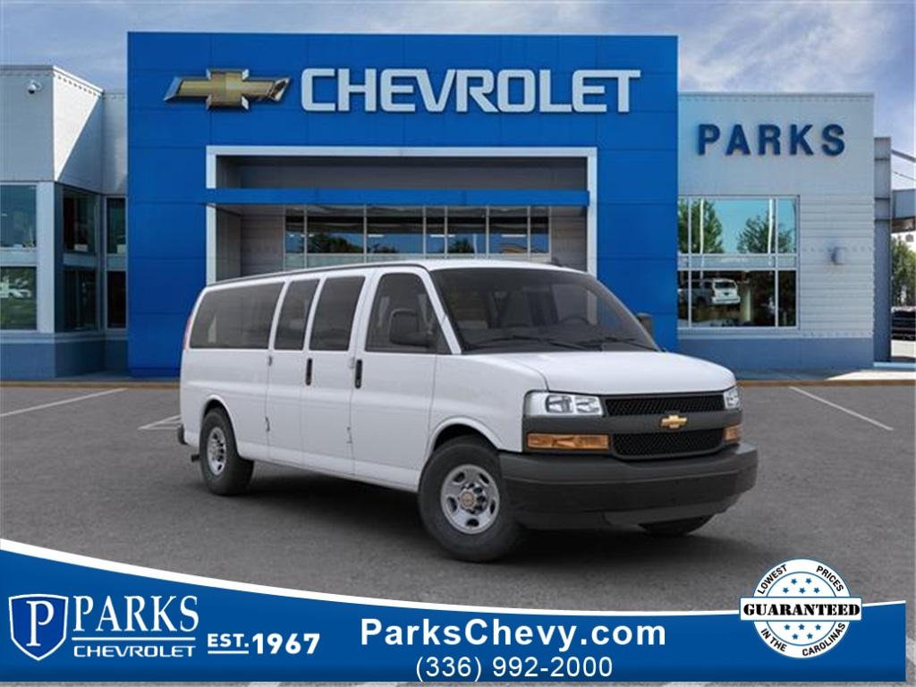 2020 Chevrolet Express 3500 4x2, Passenger Wagon #FK3470 - photo 1