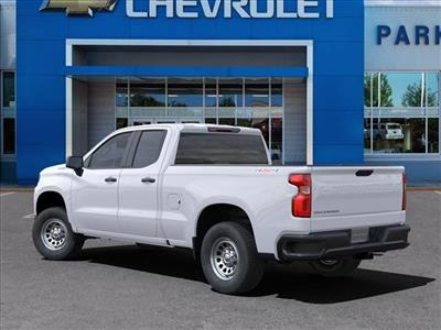 2021 Chevrolet Silverado 1500 Double Cab 4x4, Pickup #FK36100 - photo 4