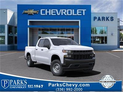 2021 Chevrolet Silverado 1500 Double Cab 4x4, Pickup #FK36863 - photo 1