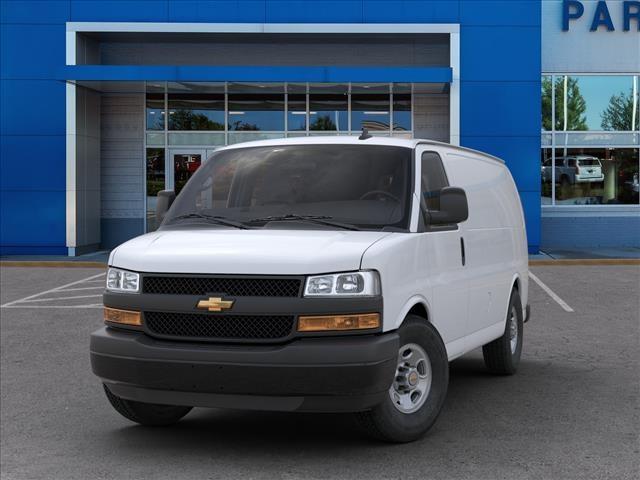 2020 Chevrolet Express 2500 4x2, Masterack Steel General Service Upfitted Cargo Van #FK3834 - photo 6