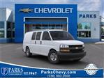 2020 Chevrolet Express 2500 4x2, Masterack Steel General Service Upfitted Cargo Van #FK3834 - photo 1
