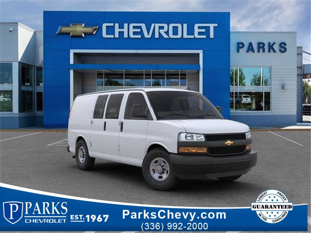 2020 Chevrolet Express 2500 4x2, Masterack Steel General Service Upfitted Cargo Van #FK3837 - photo 1