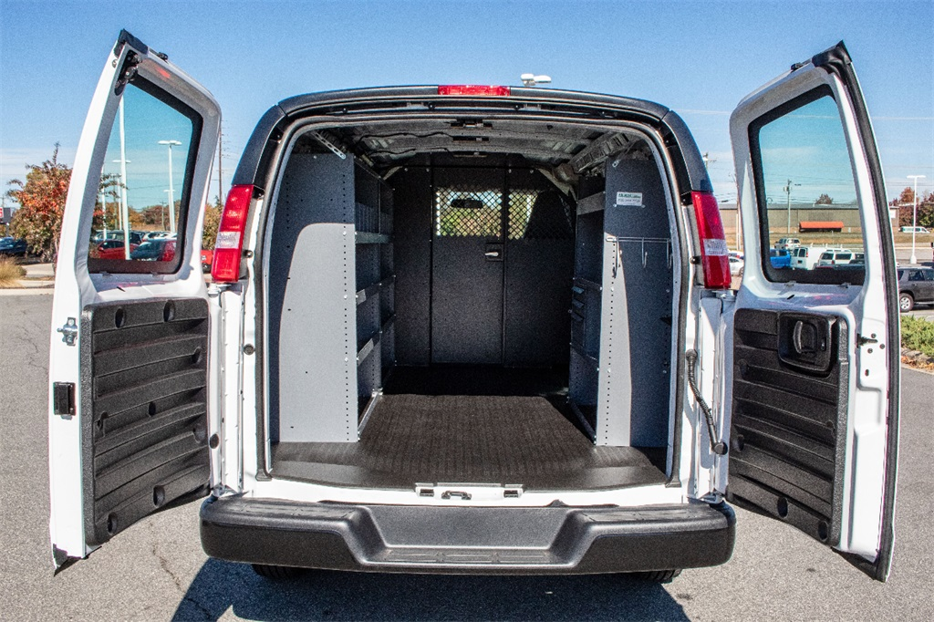 2018 Express 2500 4x2,  Masterack Upfitted Cargo Van #FK38590 - photo 2