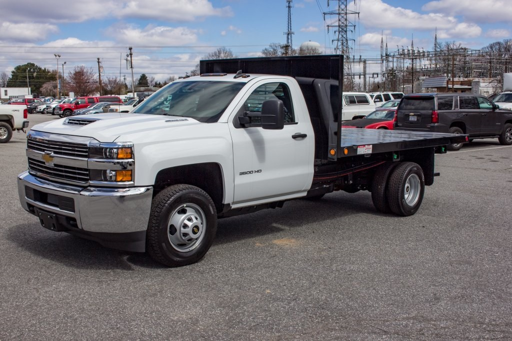 2018 Silverado 3500 Regular Cab DRW 4x2,  Freedom Platform Body #FK3874 - photo 1